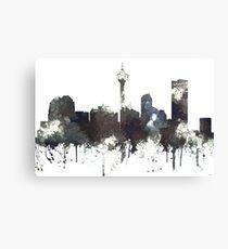 Calgary, Alberta Skyline, CANADA - CRISP Canvas Print