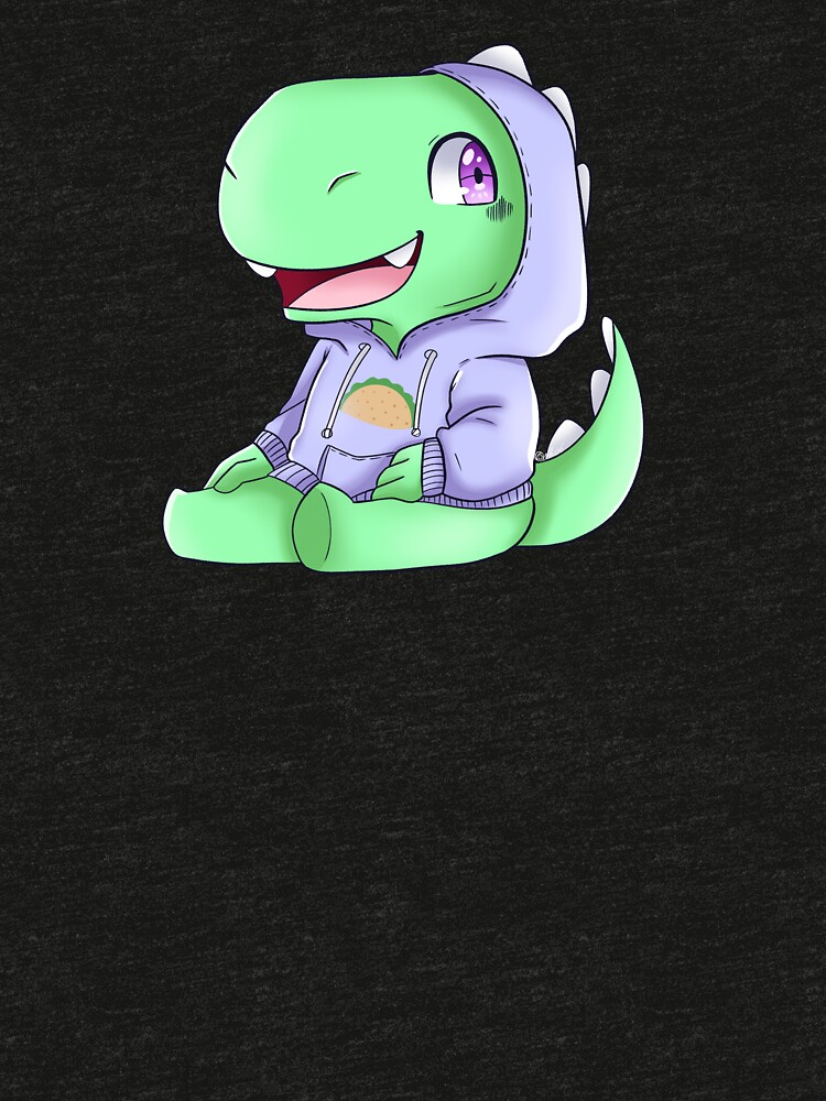 Little Mr.Dinosaur AkA Taco eater! by BlackRhino1
