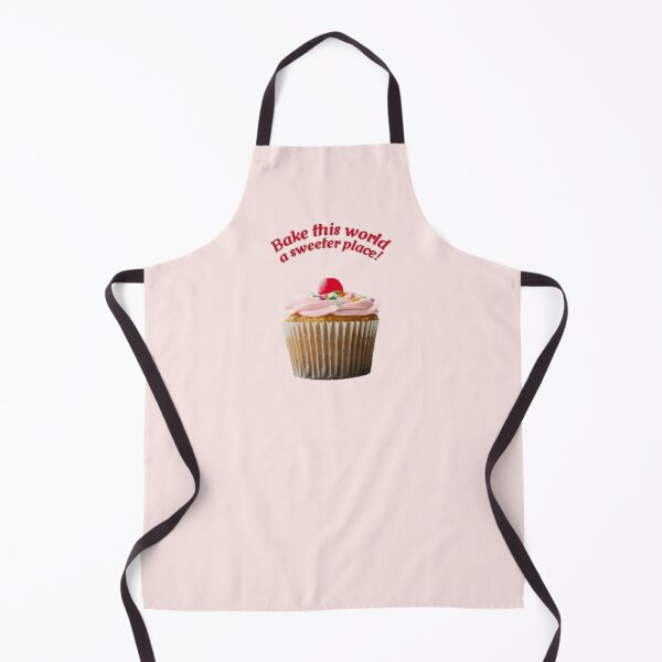 Cherry cupcake pattern ~ Baking Addiction Collection Apron
