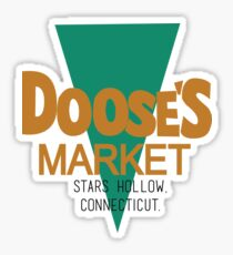 Doose's Market - Gilmore Girls Sticker