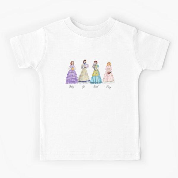 Little Women - Meg, Jo, Beth and Amy March Kids T-Shirt