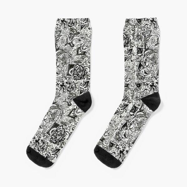 """Organic Machinery"" Socks"