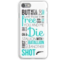My Shot - Hamilton iPhone Case/Skin