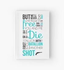 Mein Schuss - Hamilton Notizbuch