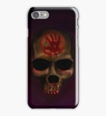 Dark Brotherhood Skull iPhone Case/Skin