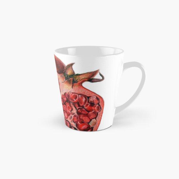 Beautiful Pomegranate Illustration Tall Mug