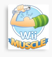 Wii Muscle Canvas Print