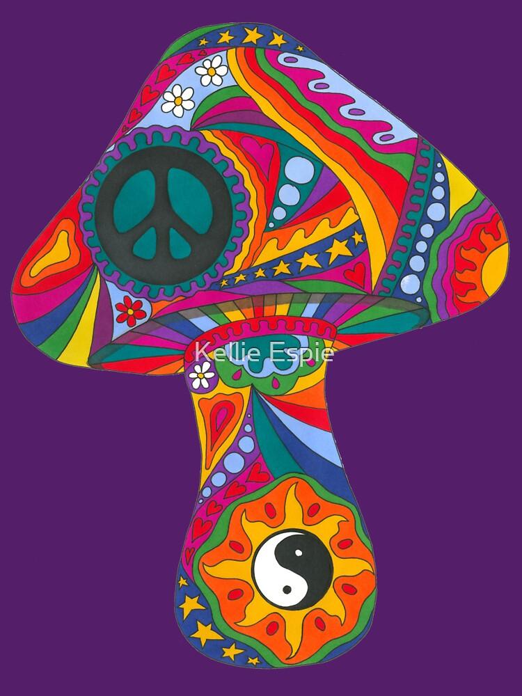 Psychedelic Mushroom by kelkel66