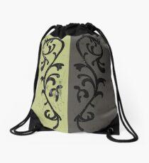 Grass Crest Shield Drawstring Bag