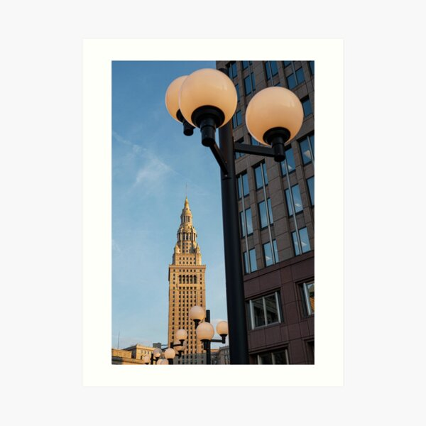 Terminal Tower - Cleveland Ohio Art Print