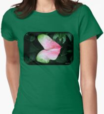 The Anthurium Flower ~ A History Womens Fitted T-Shirt