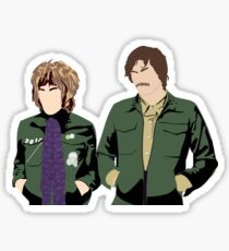Vince and Howard Sticker
