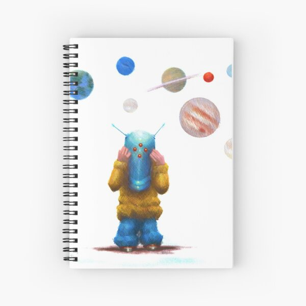 WHAT PLANET ARE YOU FROM? Spiral Notebook