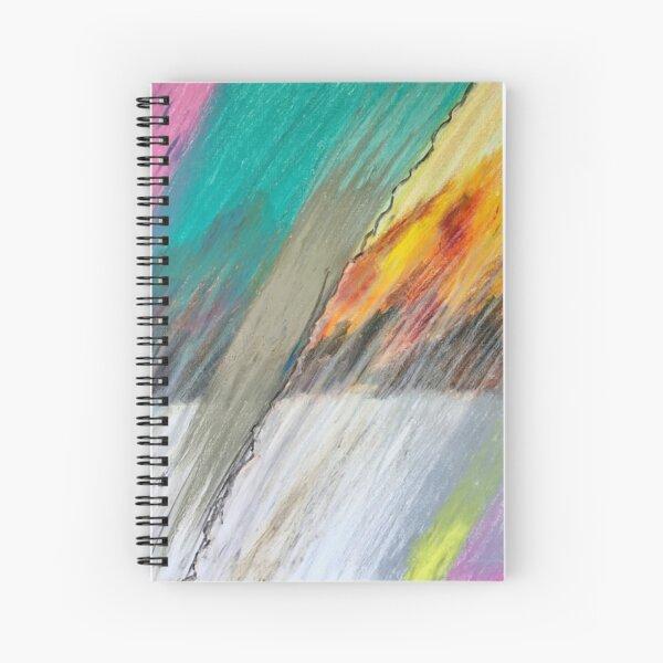 Rain & Fire Spiral Notebook