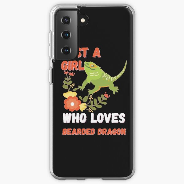 Just A Girl Who Loves Bearded Dragon Samsung Galaxy Soft Case