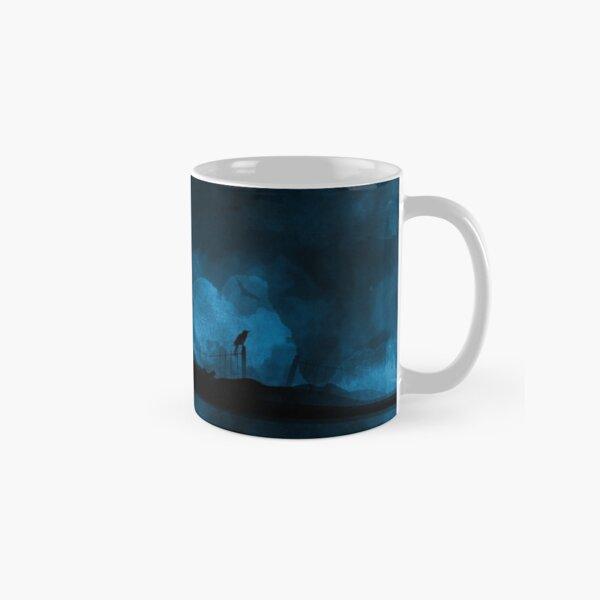 """""""Haunted"""" - Blue Classic Mug"""