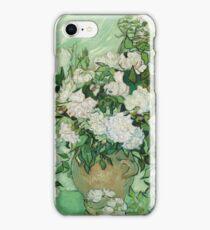 Vincent Van Gogh - Roses - Van Gogh - Roses  iPhone Case/Skin