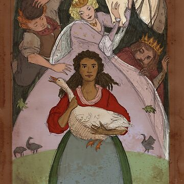 The Goose Girl by tanaudel