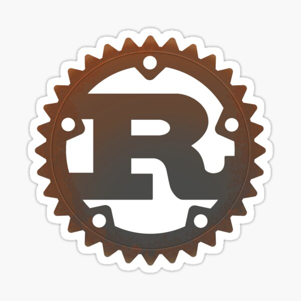Rust Sticker