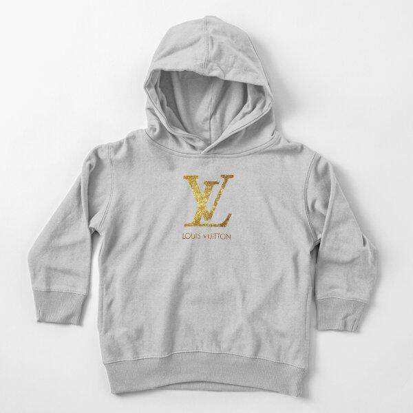 Meilleur nouveau logo LouisVuitton Sweat à capuche épais pour tout-petit