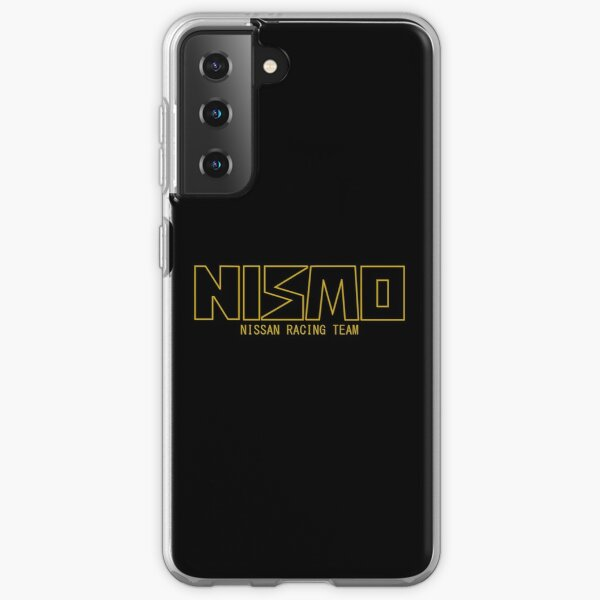 Classic Gold and Black NISMO Nissan Racing Team Logo Samsung Galaxy Soft Case