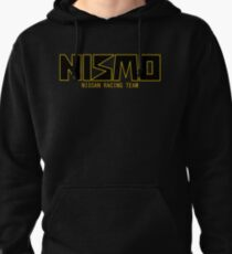 Classic Gold and Black NISMO Nissan Racing Team Logo Pullover Hoodie