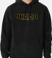 Klassisches Gold und schwarzes NISMO Nissan Racing Team Logo Hoodie