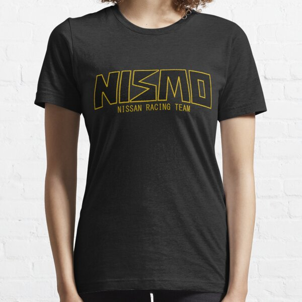 Classic Gold and Black NISMO Nissan Racing Team Logo Essential T-Shirt