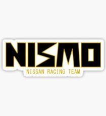 Classic Gold and Black NISMO Nissan Racing Team Logo Sticker