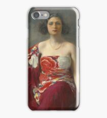 Ramon Casas - La Trini  iPhone Case/Skin