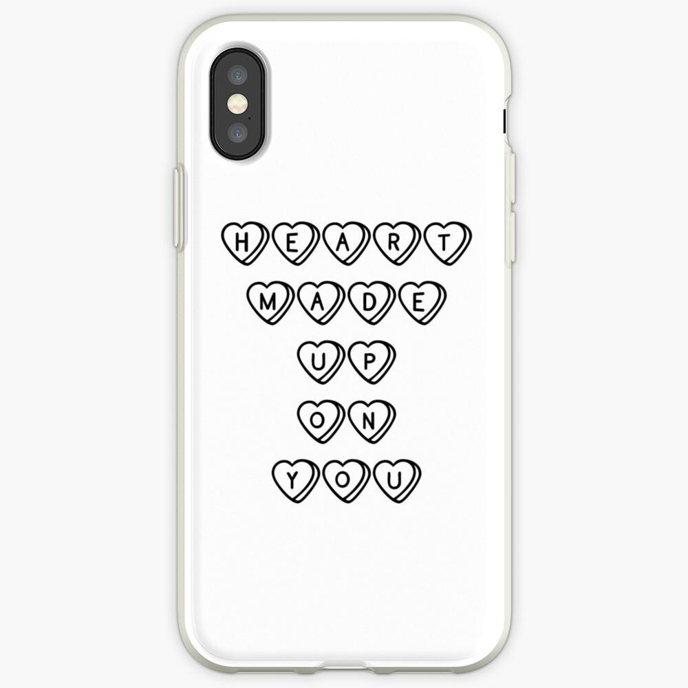 Herz gemacht auf dich iPhone-Hülle & Cover