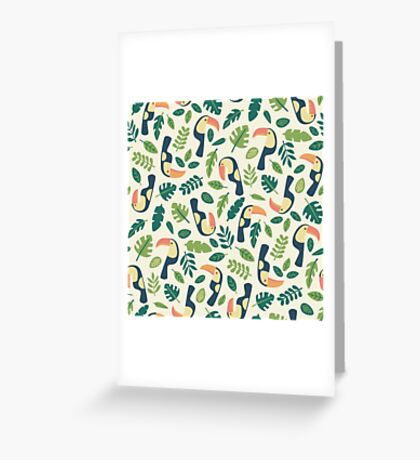 Toucans Greeting Card
