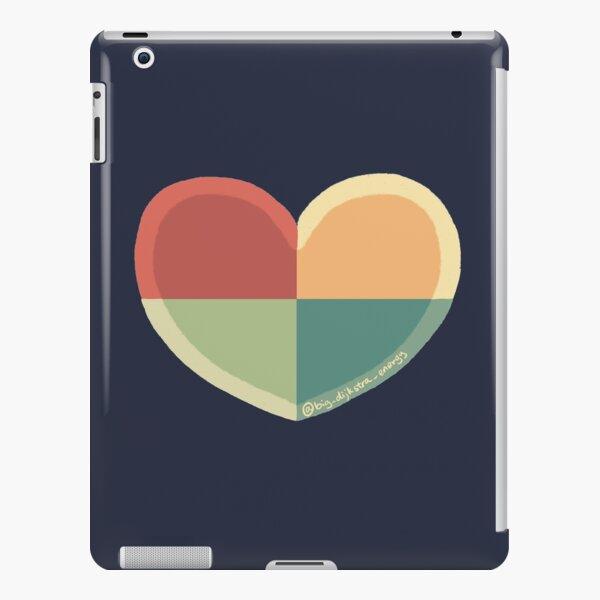 BDE Color Block Heart iPad Snap Case