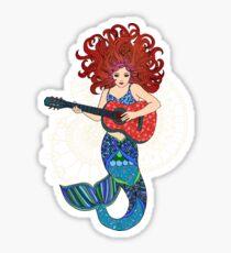 Musical Mermaid Sticker
