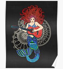 Musical Mermaid Poster