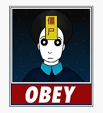 Jiangshi-Obey Photographic Print