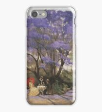 Godfrey Rivers - Under The Jacaranda  iPhone Case/Skin