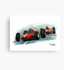1965  Ferrari 158/Ferrari 1512 Canvas Print