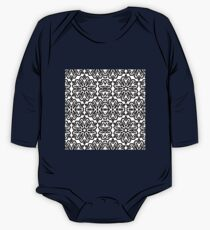 Isometric Mandala Tiling Pattern One Piece - Long Sleeve