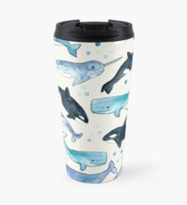 Whales, Orcas & Narwhals Travel Mug