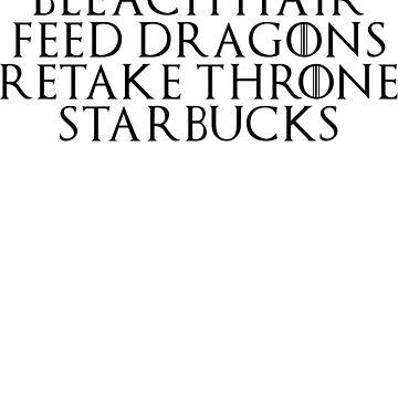 Negocios Khaleesi del siglo XXI (TXT negro) de Luminee