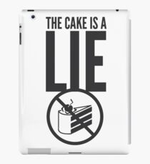 Portal - Cake is a Lie iPad Case/Skin
