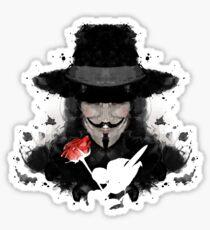 Ink for Vendetta Sticker