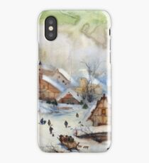 Christmas carols iPhone Case