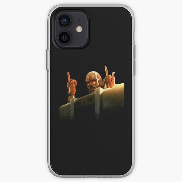 Attaque colossale des titans sur les titans - SnK - Conception drôle Coque souple iPhone