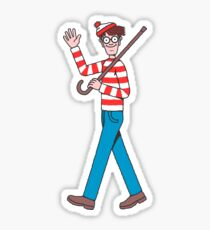 Waldo Sticker
