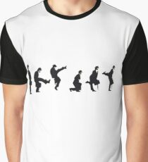 Silly Walk by Banksy Graphic T-Shirt