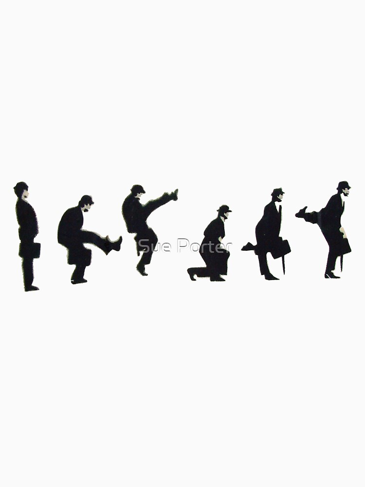 Silly Walk by Banksy by SuePorter