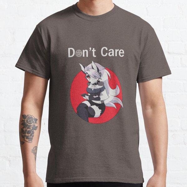 "Helluva Boss Loona ""Don't Care "" (Dark) Classic T-Shirt"