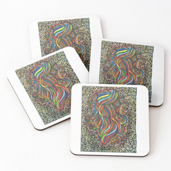 The Invisible Man Coasters (Set of 4)
